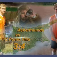 Ackerfreunde - FC Porno Villa 3:4 (0:1)